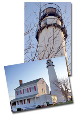 The Lighthouse in Fenwick Island, Delaware