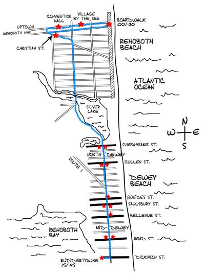 Rehoboth Beach Delaware Public Transportation